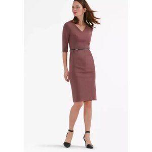 MM Lafleur Cherrywood The Mona Sheath Career Dress